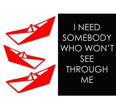 Adam Bridgland - I need somebody who won't see through me courtesy of TAG Fine Arts