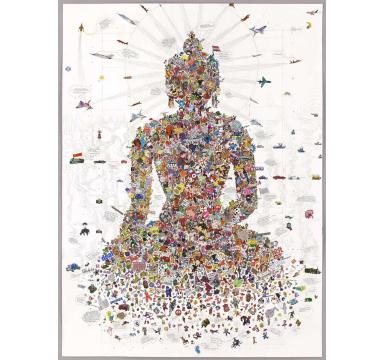 Gonkar Gyatso - Buddha Sakyamuni courtesy of TAG Fine Arts