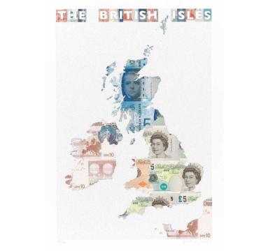 Justine Smith - The British Isles - Courtesy of TAG Fine Arts