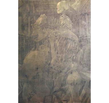 Katsu Yuasa - One hundred million years of solitude #1 courtesy of TAG Fine Arts