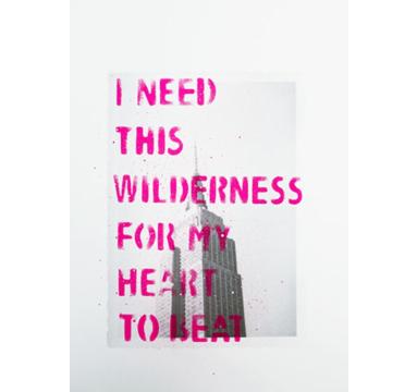 Adam Bridgland - I Need This Wilderness - Empire - courtesy of TAG Fine Arts