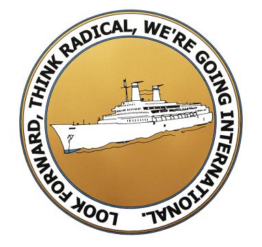 Adam Bridgland - Look Forward, Think Radical, We're Going International - courtesy of TAG Fine Arts