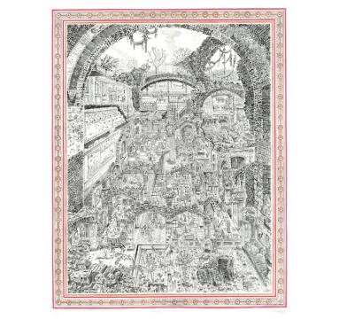 Adam Dant - Annabel's (Domus Aurea) - courtesy of TAG Fine Arts