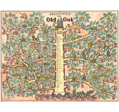 TAG Fine Arts - Adam Dant - Argotopolis: The Map of London Slang