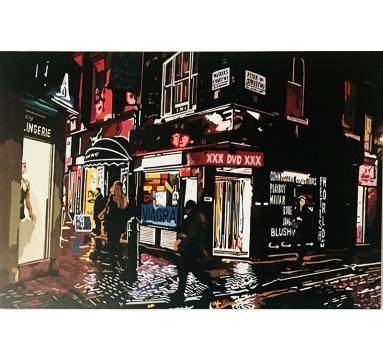 Alicia Dubnyckyj - Peter Street, London - courtesy of TAG Fine Arts
