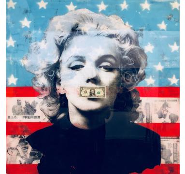 Ashleigh Sumner - American Woman II (Variant) - courtesy of TAG Fine Arts
