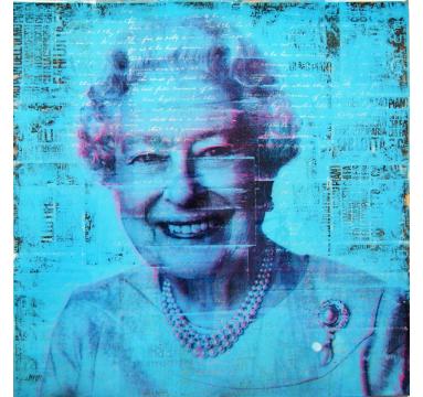 Ashleigh Sumner - Yaaas Queen II (Blue) - courtesy of TAG Fine Arts