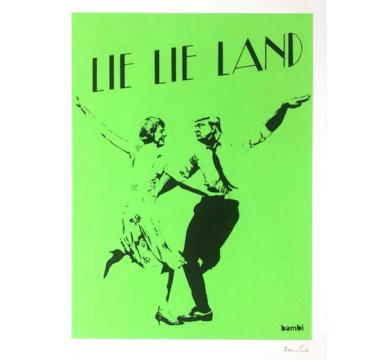 Bambi - Lie Lie Land (Green) - courtesy of TAG Fine Arts