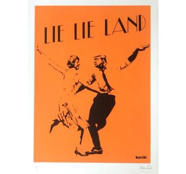 Bambi - Lie Lie Land (Orange) - courtesy of TAG Fine Arts