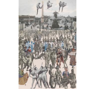 Peter Blake - Dancing, Place de la Concorde, TAG Fine Arts