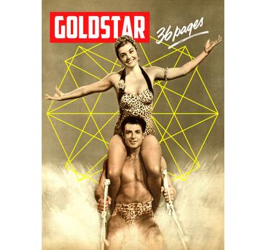 Brett Goldstar - Esther (Williams) and John (Bromfield) - courtesy of TAG Fine Arts