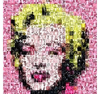 Brett Goldstar - I Love Plastic 8090 (Marilyn) - courtesy of TAG Fine Arts