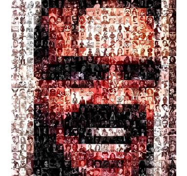 Brett Goldstar - Johnny Be Good II (Jack Nicholson) - courtesy of TAG Fine Arts