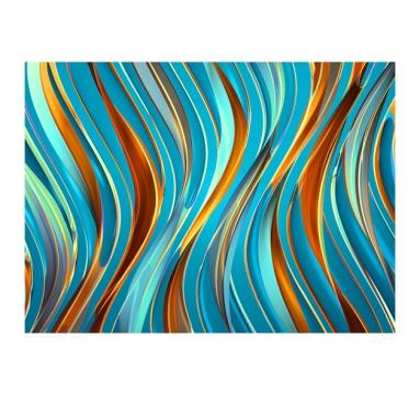 Chuck Elliott - Flow / turquoise base - courtesy of TAG Fine Arts