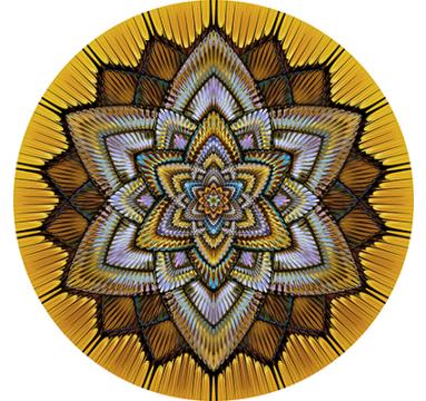 Collider / Gilded Mandala