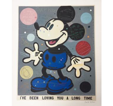 David Spiller - For Love For You (Pink) - courtesy of TAG Fine Arts