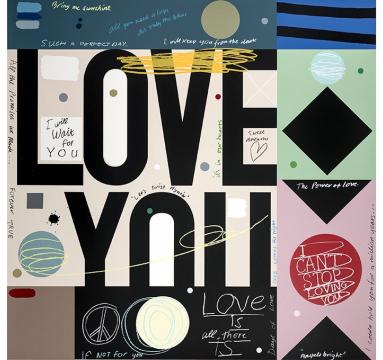 David Spiller - Love Forever True (Crop) - courtesy of TAG Fine Arts