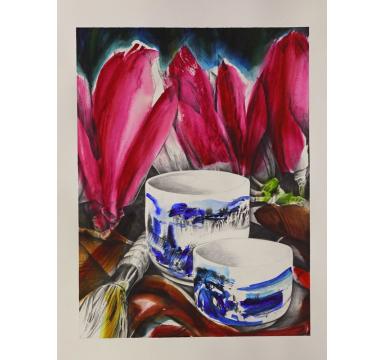 Dean Home - Blue Tongli - courtesy of TAG Fine Arts