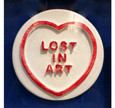 Dean Zeus - Lost In Art - courtesy of TAG Fine Arts