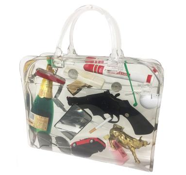 Debra Franses Bean - Man Bag - courtesy of TAG Fine Arts