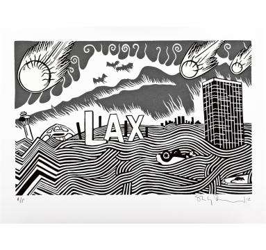 Stanley Donwood - LA Exit courtesy of TAG Fine Arts