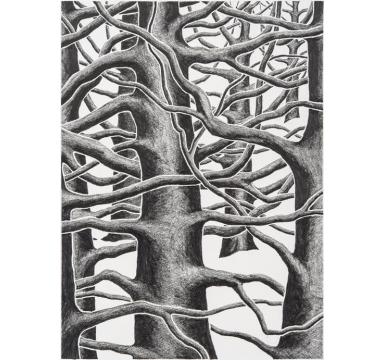 Stanley Donwood - Phlegm - courtesy of TAG Fine Arts