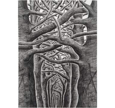 Stanley Donwood - Sanguine - courtesy of TAG Fine Arts