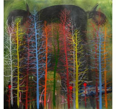Stanley Donwood - Soken Fen - courtesy of TAG Fine Arts