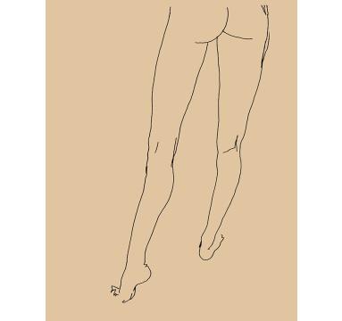 Ed Hodgkinson - E - Standing (Colour 9) - courtesy of TAG Fine Arts