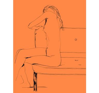 Ed Hodgkinson - C - Sitting (Colour 4) - courtesy of TAG Fine Arts