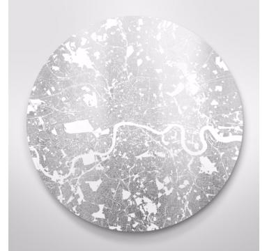 Ewan David Eason - Mappa Mundi Maoir Londinium (Small) - courtesy of TAG Fine Arts