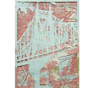 Emma Johnson -59th St. Bridge (Feelin' Groovy) - courtesy of TAG Fine Arts