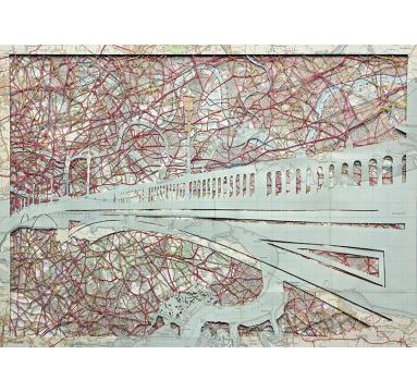 Emma Johnson - Battersea Bridge (Lit Up) - courtesy of TAG Fine Arts