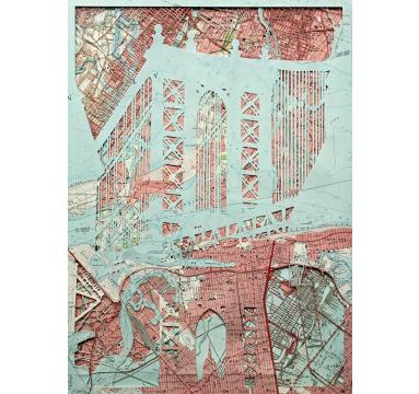 Emma Johnson - Manhattan Bridge (DUMBO) - courtesy of TAG Fine Arts