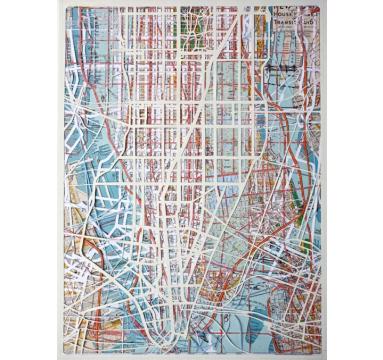 Emma Johnson - Manhattan Transit - courtesy of TAG Fine Arts