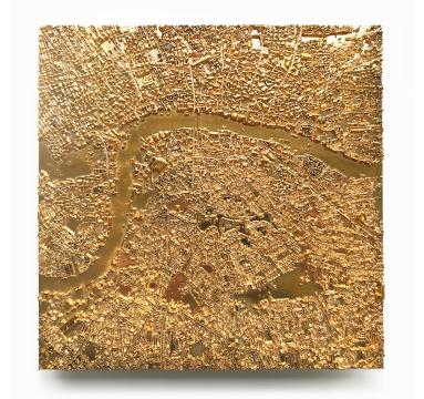 Ewan David Eason - City of Gold London I - courtesy of TAG Fine Arts