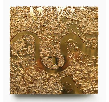 Ewan David Eason - City of Gold London II - courtesy of TAG Fine Arts