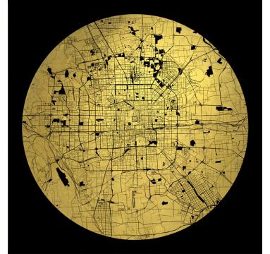 Ewan David Eason - Mappa Mundi Beijing - courtesy of TAG Fine Arts