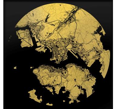Ewan David Eason - Hong Kong (Black) - courtesy of TAG Fine Arts
