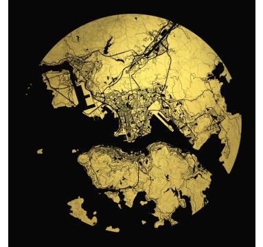 Ewan David Eason - Mappa Mundi Hong Kong - courtesy of TAG Fine Arts