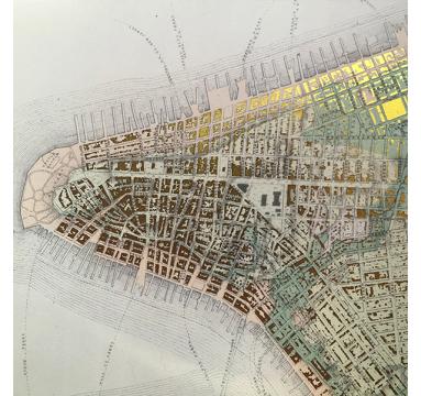 Ewan David Eason - Sacred City - Manhattan Point - courtesy of TAG Fine Arts