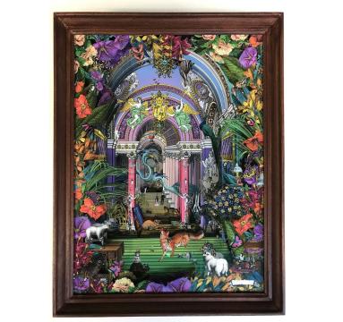 Kristjana S Williams - Fox For Tea Diorama - courtesy of TAG Fine Arts