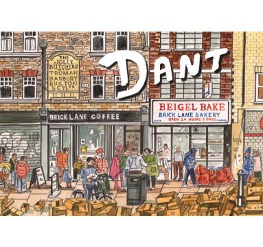 Adam Dant - Soerditch: Diary of a Neighbourhood - courtesy of TAG Fine Arts