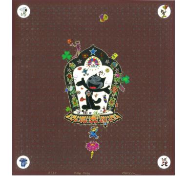 Gonkar Gyatso - Holy Moly I - courtesy of TAG Fine Arts