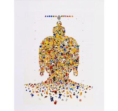Gonkar Gyatso - Buddha @ Hotmail courtesy of TAG Fine Arts