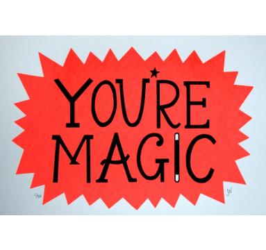 Hazel Nicholls - You're Magic - courtesy of TAG Fine Arts