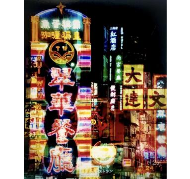 Richard Heeps - Lights of Mong Kok - courtesy of TAG Fine Arts