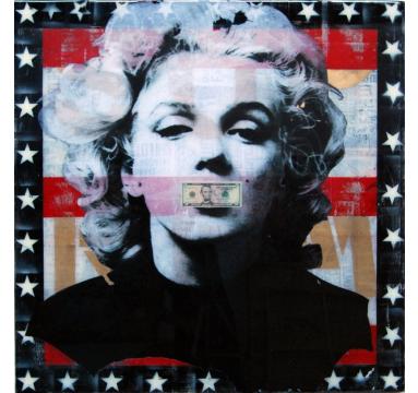 Ashleigh Sumner - Dead Marilyn - courtesy of TAG Fine Arts
