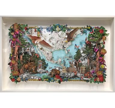 Kristjana S Williams - Falcons and Eagles - courtesy of TAG Fine Arts