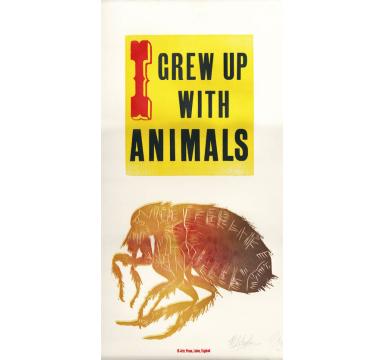 Helen Ingham - I Grew Up With Animals courtesy of TAG Fine Arts